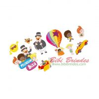 - Mini Personagens Decorativos Mundo Bita - Pct c/ 10 unidades - Cod. 105835.5 - Regina