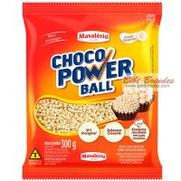 Choco Power Ball Branco Micro 300g - Mavalério