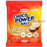 Choco Power Ball Branco Mini 300g - Mavalério