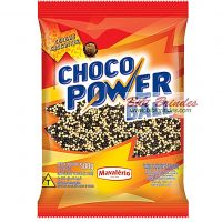 Choco Power Ball Preto e Branco Micro 500g - Mavalério