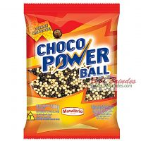 Choco Power Ball Preto e Branco Mini 500g - Mavalério