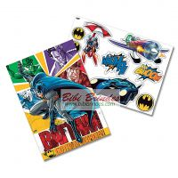 - Kit Decorativo Batman - 1 Painel 64cm x 45cm e 9 Enfeites - Festcolor