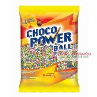 Choco Power Ball Colorido Micro 500g - Mavalério