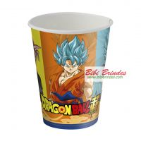 - Copo de Papel Dragon Ball 200ml - Contém 8 unid. - Ref. 105746 - Festcolor