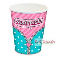 - Copo de Papel LOL Surprise 180ml - Contém 8 unid. - Ref. 30665 - Junco