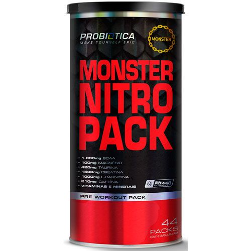 Monster Nitro Pack - 44 Packs - Probiótica