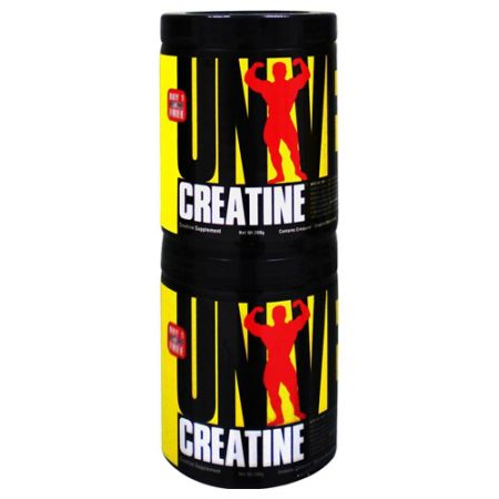 Creatina Powder Creapure - 400g (200g + 200g) - Universal Nutrition