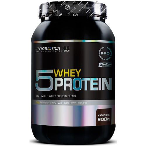 Ultimate 5 Whey Protein - 900g - Probiótica