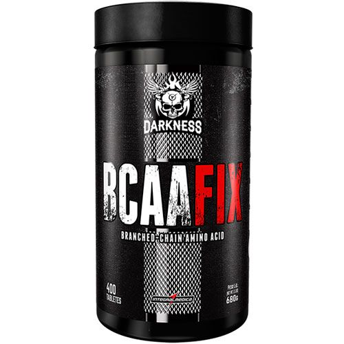 BCAA Fix Darkness - 4500mg - 400 Tabletes - IntegralMedica
