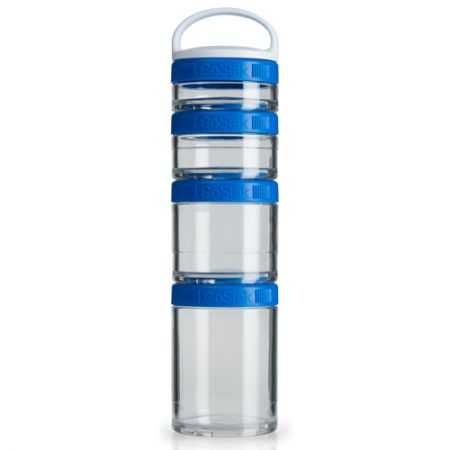 Blender GoStak Starter 4Pak - Azul - Blender Bottle