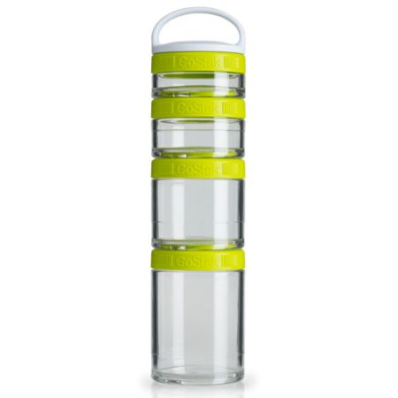 Blender GoStak Starter 4Pak - Verde - Blender Bottle