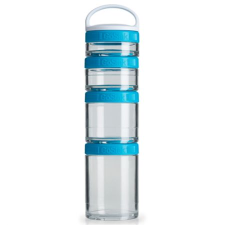Blender GoStak Starter 4Pak - Azul Aqua - Blender Bottle