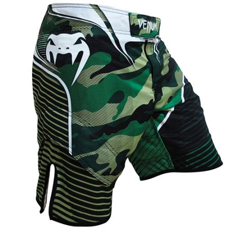 Bermuda Venum Camo Hero Fight - Verde / Preto