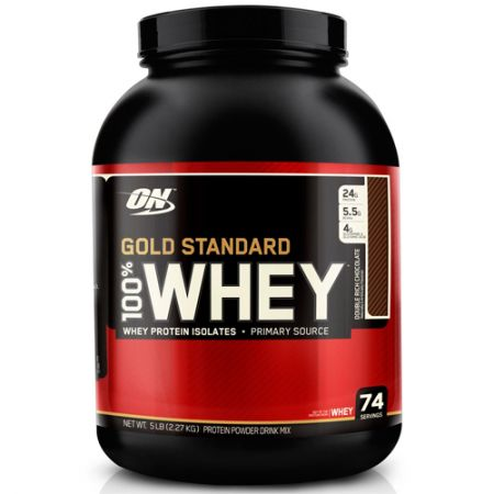 Whey Protein 100% Gold Standard - 2270g - Optimum Nutrition