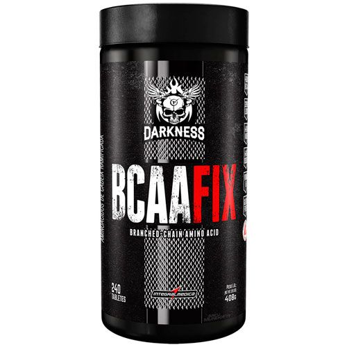 BCAA Fix Darkness - 4500mg - 240 Tabletes - IntegralMedica