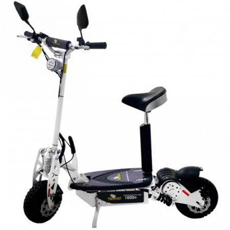 Patinete Scooter Elétrico - 1000w - Branco - Two Dogs