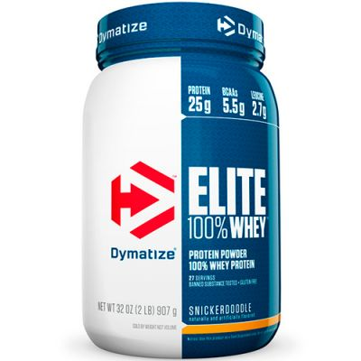 Elite 100% Whey Protein Powder - 907g - Dymatize