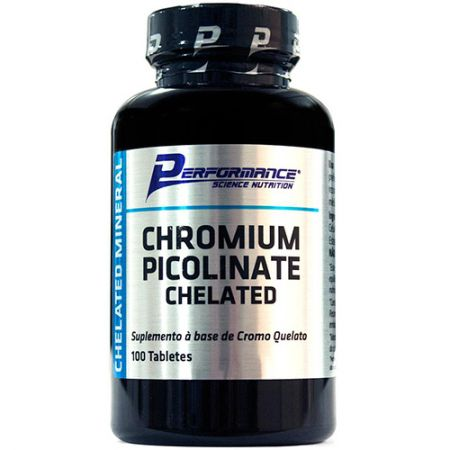 Chromium Picolinate - 100 Tabletes - Performance Nutrition