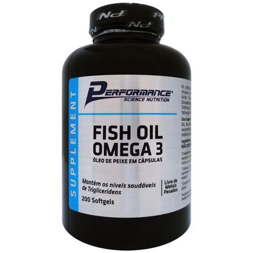 Fish Oil Omega 3 - 200 Softgels - Performance Nutrition