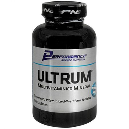 Multivitaminico Ultrum - 100 Tabletes - Performance Nutrition