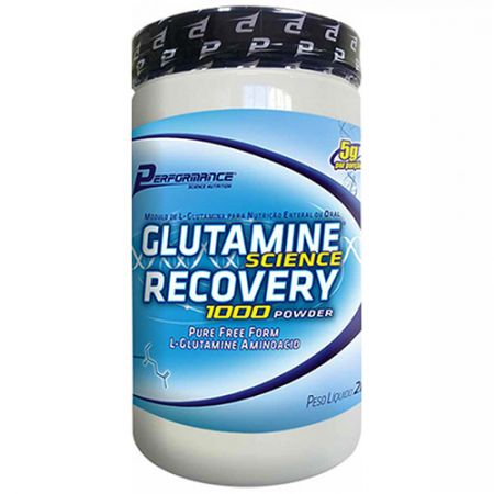 Glutamina Science Recovery 1000 Powder - 2000g - Performance Nutrition
