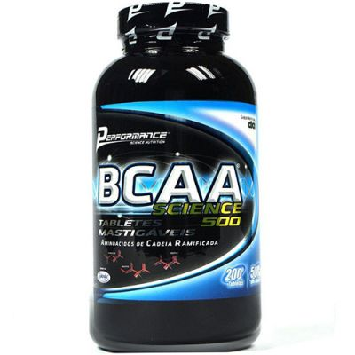 BCAA Science 500 - 200 Tabletes Mastigáveis - Performance Nutrition
