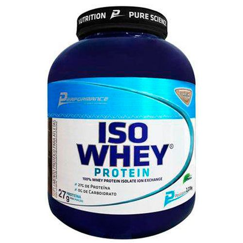 Iso Whey Protein - 2273g - Performance Nutrition