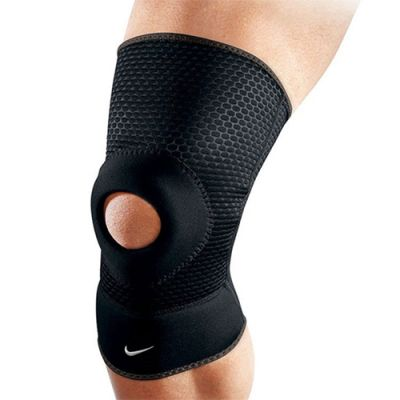 Joelheira Open Patella Knee Sleeve - Preto - Nike