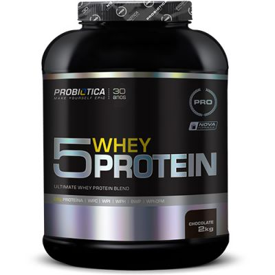 Ultimate 5 Whey Protein - 2000g - Probiótica