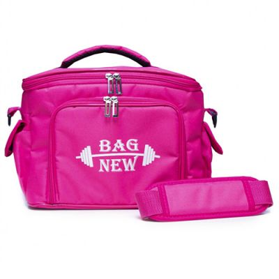 Bolsa Térmica - Fit 5 Potes - Rosa - Bag New