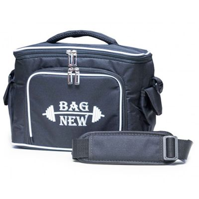 Bolsa Térmica - Fit 5 Potes - Preto - Bag New