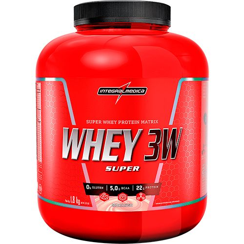 Super Whey 3W - 1800g - IntegralMedica