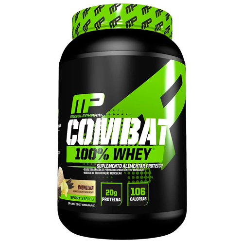 Combat 100% Whey - 907g - Muscle Pharm
