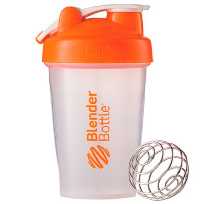 Coqueteleira Blender Classic - Blender Bottle - Laranja - 20oz / 590ml