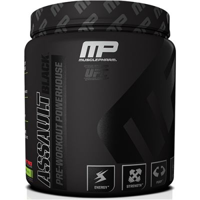 Assault Black - Pré-Treino - Ultra Concentrado - 372g - Muscle Pharm USA
