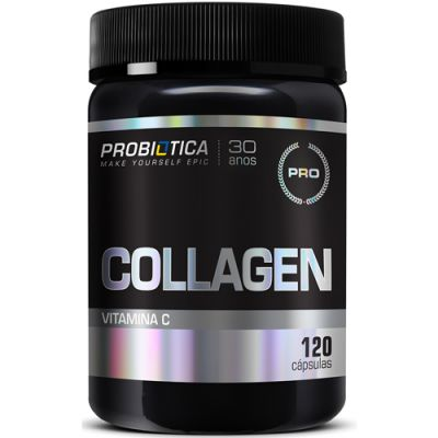 Collagen Hydrolyzed - 120 Cápsulas - Probiótica