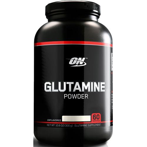 Glutamina Powder Black - 300g - Optimum Nutrition