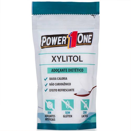Adoçante Xylitol - 200g - Power One