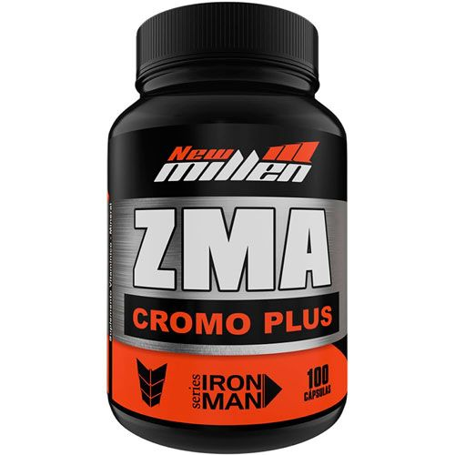 ZMA Cromo Plus Ironman Series - 100 Cápsulas - New Millen
