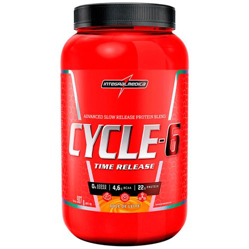 Cycle-6 Protein Blend Time Release - 907g - IntegralMedica (Validade 04/2020)