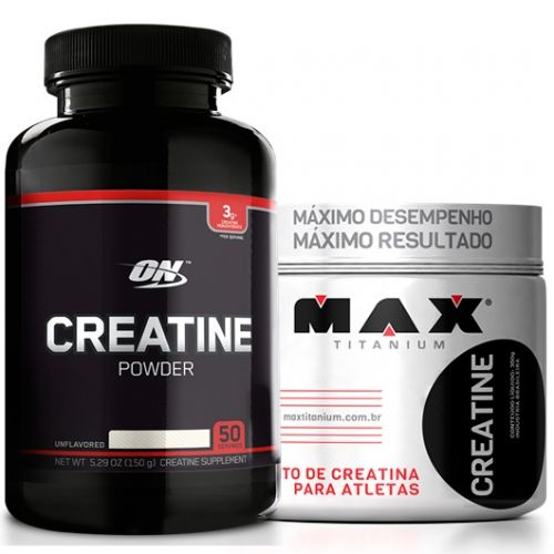 Creatina Powder Black - 150g - 50 Doses - Optimum Nutrition (Ganhe 1 Creatina 150g Max Titanium)
