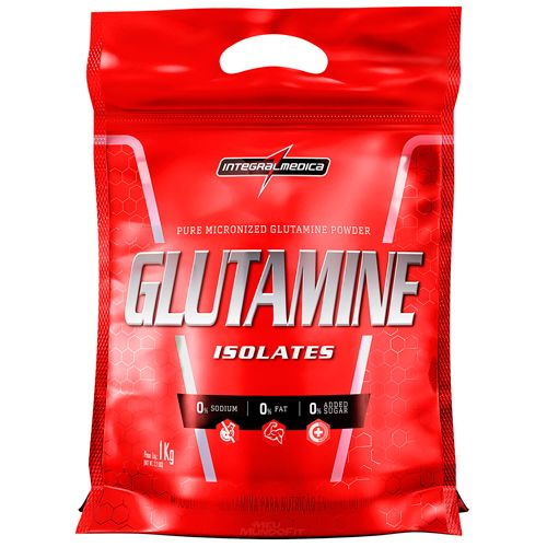 Glutamina Powder Isolates - Pacote 1000g - IntegralMedica