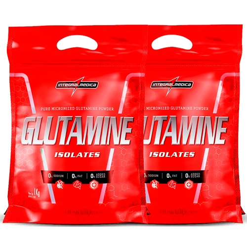 Glutamina Powder Isolates (2000g) (2 x 1000g) - IntegralMedica