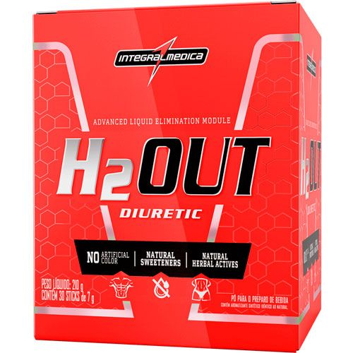 H2Out (30 Sachês de 7g) - 210g - IntegralMedica