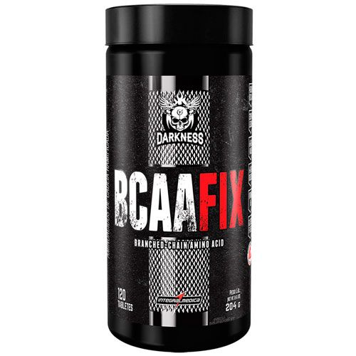 BCAA Fix Darkness - 4500mg - 120 Tabletes - IntegralMedica