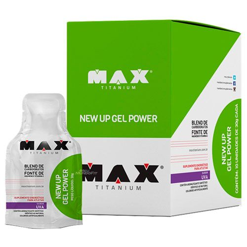 New Up Gel Power - 300g - Max Titanium