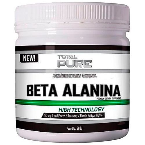 Beta-Alanina - 200g - 100 Doses - Total Pure