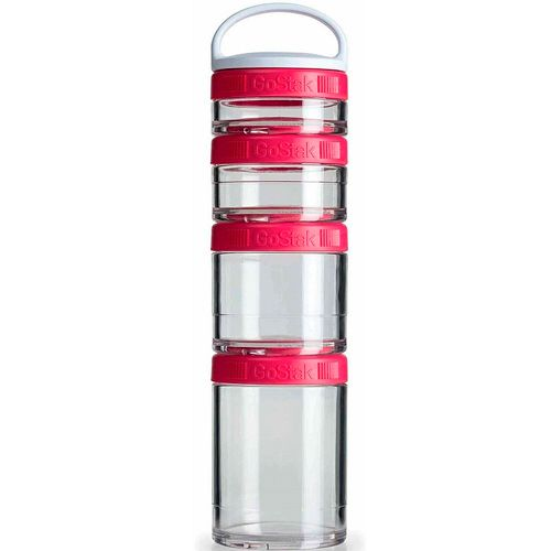 Blender GoStak Starter 4Pak - Rosa - Blender Bottle