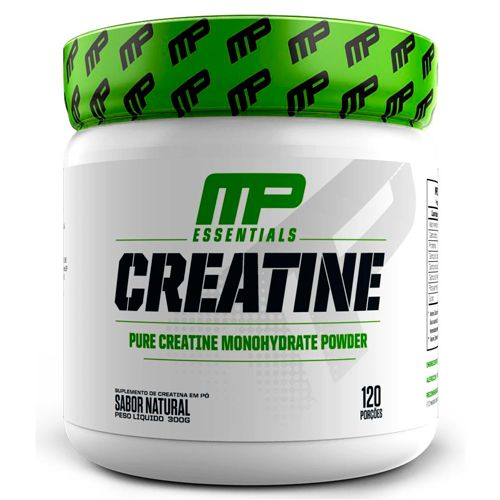 Creatina MP Pura Monohidratada - 300g - 100 Doses - Muscle Pharm