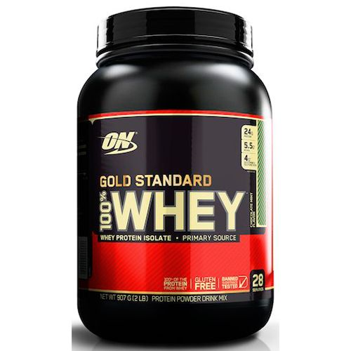 Whey Protein 100% Gold Standard - 907g - Optimum Nutrition 27097ffdb8117